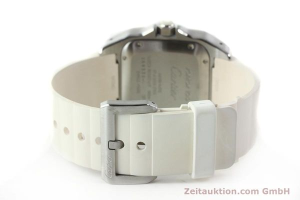 Used luxury watch Cartier Santos 100 steel automatic Kal. 076 ETA 2671  | 141836 12