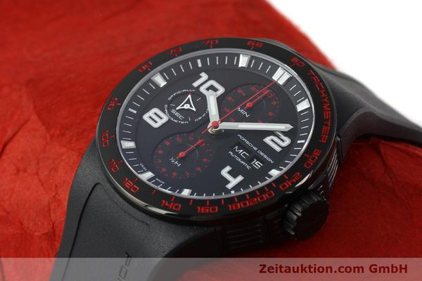 Used luxury watch Porsche Design Flat Six steel automatic Kal. ETA 7750 Ref. 6340.43  | 141838 01