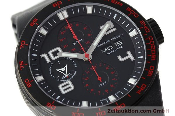 Used luxury watch Porsche Design Flat Six steel automatic Kal. ETA 7750 Ref. 6340.43  | 141838 02