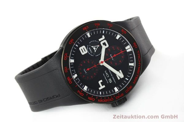 Used luxury watch Porsche Design Flat Six steel automatic Kal. ETA 7750 Ref. 6340.43  | 141838 03