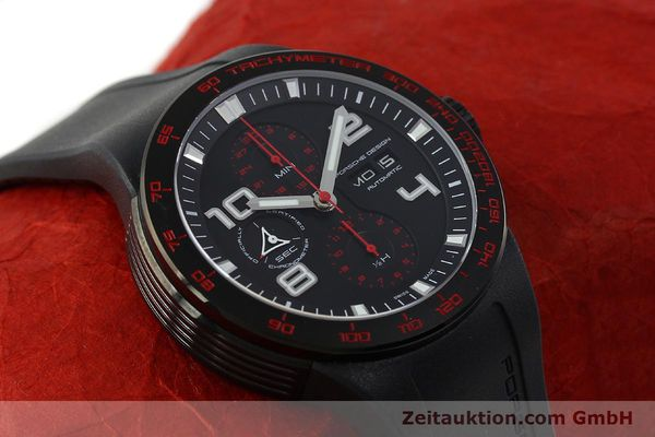 Used luxury watch Porsche Design Flat Six steel automatic Kal. ETA 7750 Ref. 6340.43  | 141838 15