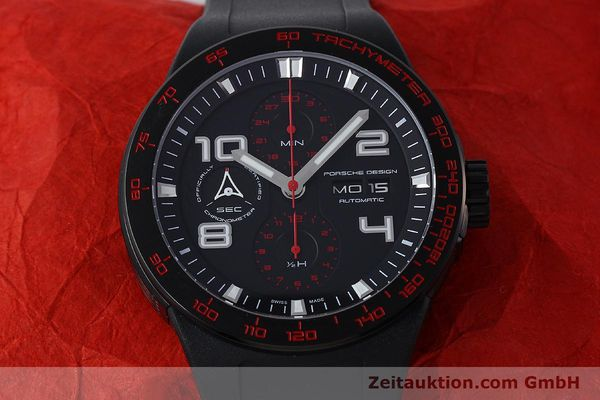 Used luxury watch Porsche Design Flat Six steel automatic Kal. ETA 7750 Ref. 6340.43  | 141838 16