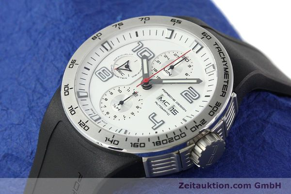 Used luxury watch Porsche Design Flat Six steel automatic Kal. ETA 7750 Ref. 6340.41/4  | 141839 01