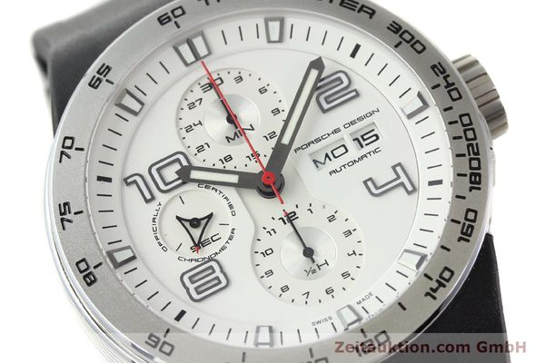Used luxury watch Porsche Design Flat Six steel automatic Kal. ETA 7750 Ref. 6340.41/4  | 141839 02