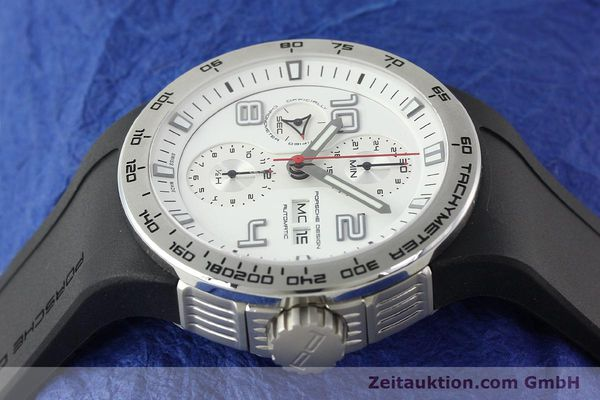 Used luxury watch Porsche Design Flat Six steel automatic Kal. ETA 7750 Ref. 6340.41/4  | 141839 05