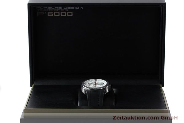 Used luxury watch Porsche Design Flat Six steel automatic Kal. ETA 7750 Ref. 6340.41/4  | 141839 07