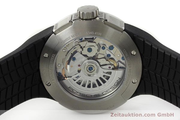 Used luxury watch Porsche Design Flat Six steel automatic Kal. ETA 7750 Ref. 6340.41/4  | 141839 09