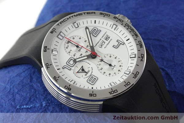Used luxury watch Porsche Design Flat Six steel automatic Kal. ETA 7750 Ref. 6340.41/4  | 141839 14