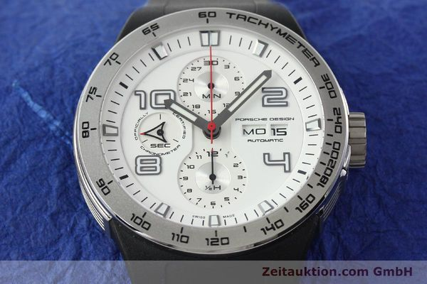 Used luxury watch Porsche Design Flat Six steel automatic Kal. ETA 7750 Ref. 6340.41/4  | 141839 15