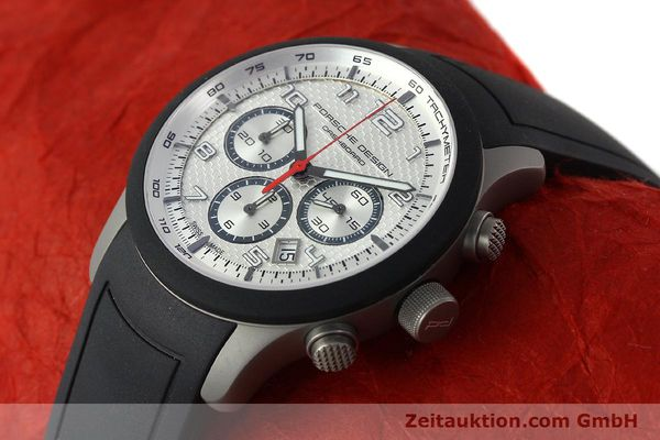 Used luxury watch Porsche Design Dashbord titanium automatic Kal. ETA 2894-2 Ref. 6612.15/3  | 141841 01