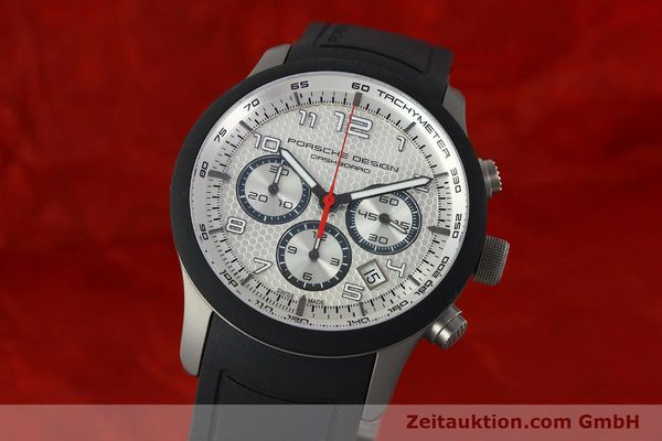 Used luxury watch Porsche Design Dashbord titanium automatic Kal. ETA 2894-2 Ref. 6612.15/3  | 141841 04