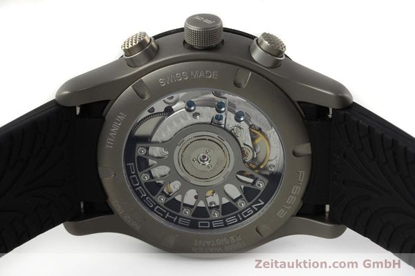 Used luxury watch Porsche Design Dashbord titanium automatic Kal. ETA 2894-2 Ref. 6612.15/3  | 141841 09