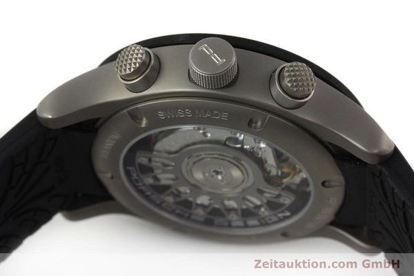 Used luxury watch Porsche Design Dashbord titanium automatic Kal. ETA 2894-2 Ref. 6612.15/3  | 141841 11