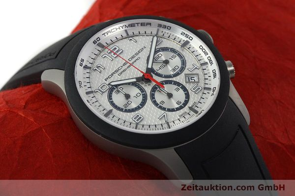 Used luxury watch Porsche Design Dashbord titanium automatic Kal. ETA 2894-2 Ref. 6612.15/3  | 141841 15
