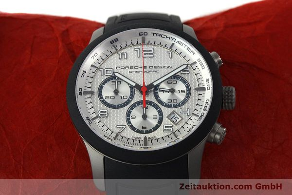 Used luxury watch Porsche Design Dashbord titanium automatic Kal. ETA 2894-2 Ref. 6612.15/3  | 141841 16