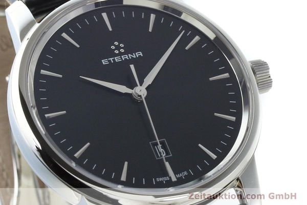 Used luxury watch Eterna Soleure steel automatic Ref. 8310.41  | 141845 02