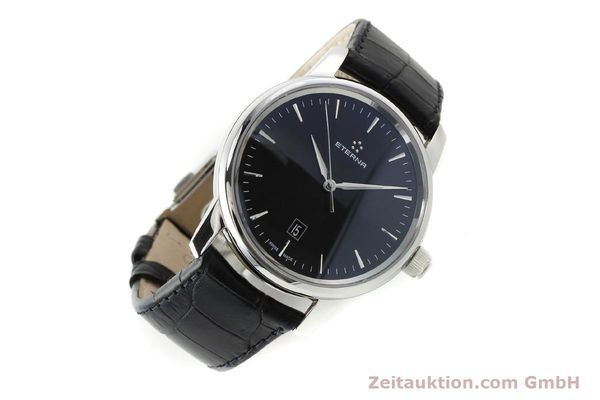 Used luxury watch Eterna Soleure steel automatic Ref. 8310.41  | 141845 03
