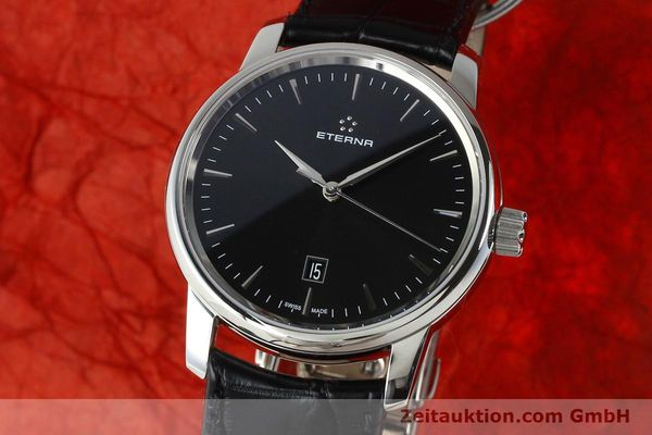 Used luxury watch Eterna Soleure steel automatic Ref. 8310.41  | 141845 04