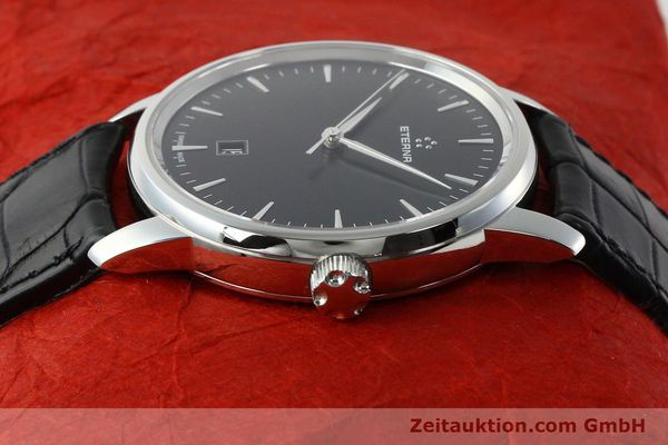 Used luxury watch Eterna Soleure steel automatic Ref. 8310.41  | 141845 05