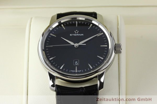 Used luxury watch Eterna Soleure steel automatic Ref. 8310.41  | 141845 07
