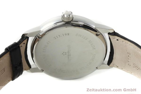 Used luxury watch Eterna Soleure steel automatic Ref. 8310.41  | 141845 13