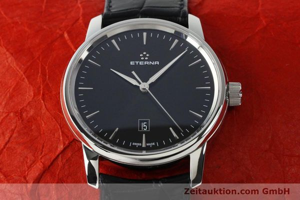 Used luxury watch Eterna Soleure steel automatic Ref. 8310.41  | 141845 17