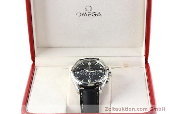 Used luxury watch Omega Railmaster chronograph steel automatic Kal. 3205A  | 141848 07
