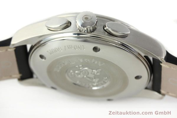 Used luxury watch Omega Railmaster chronograph steel automatic Kal. 3205A  | 141848 11