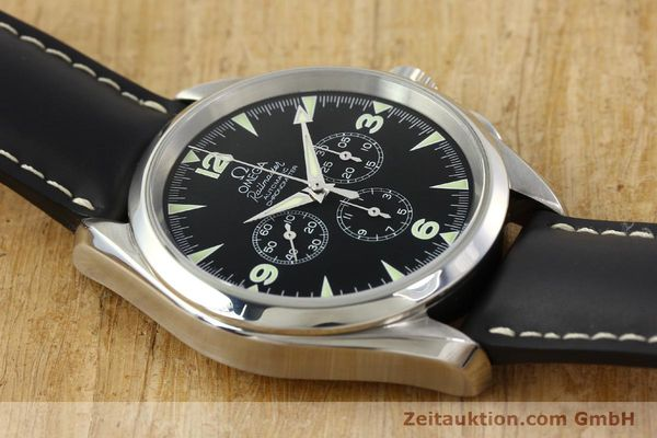 Used luxury watch Omega Railmaster chronograph steel automatic Kal. 3205A  | 141848 15