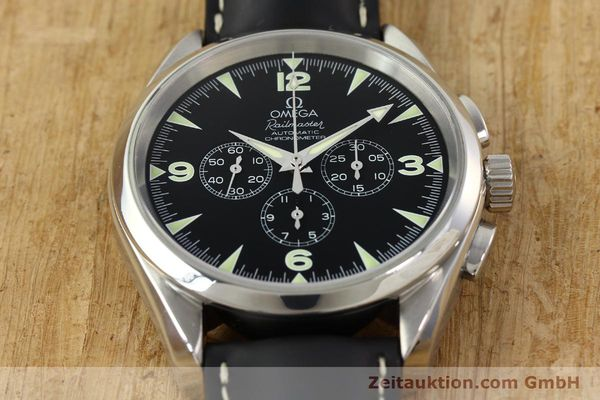 Used luxury watch Omega Railmaster chronograph steel automatic Kal. 3205A  | 141848 16