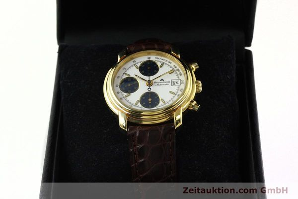 Used luxury watch Maurice Lacroix Croneo chronograph gold-plated automatic Kal. Valj. 7750 Ref. 03274  | 141852 07