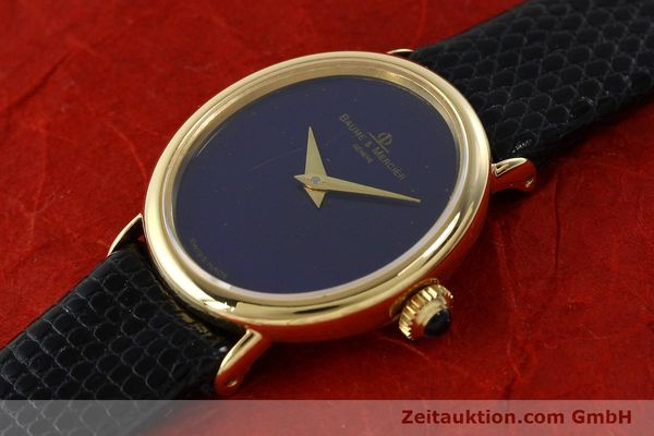 Used luxury watch Baume & Mercier * 18 ct gold manual winding Ref. 472885  | 141855 01