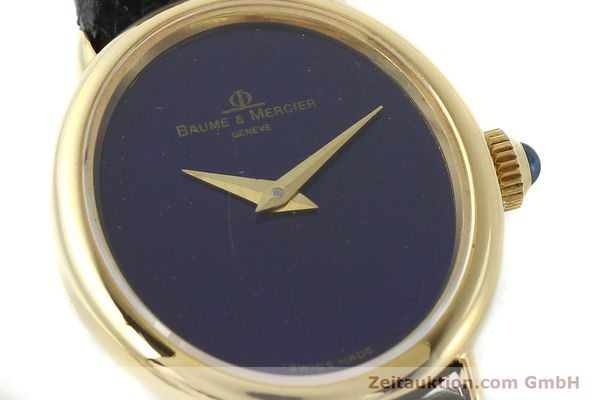 Used luxury watch Baume & Mercier * 18 ct gold manual winding Ref. 472885  | 141855 02