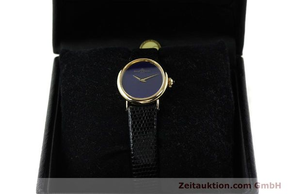 Used luxury watch Baume & Mercier * 18 ct gold manual winding Ref. 472885  | 141855 07