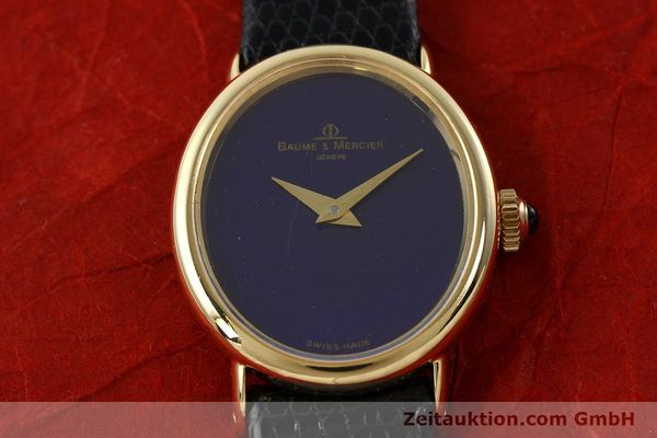 Used luxury watch Baume & Mercier * 18 ct gold manual winding Ref. 472885  | 141855 13