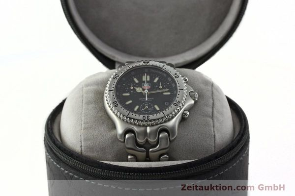 Used luxury watch Tag Heuer Professional chronograph steel quartz Kal. 4.90 ETA 251262 Ref. S39.306  | 141859 07