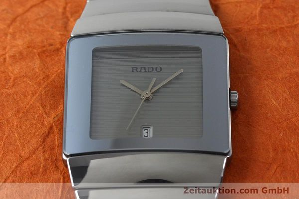 Used luxury watch Rado Diastar Ceramica ceramic quartz Kal. ETA 256111 Ref. 152.0332.2  | 141860 13