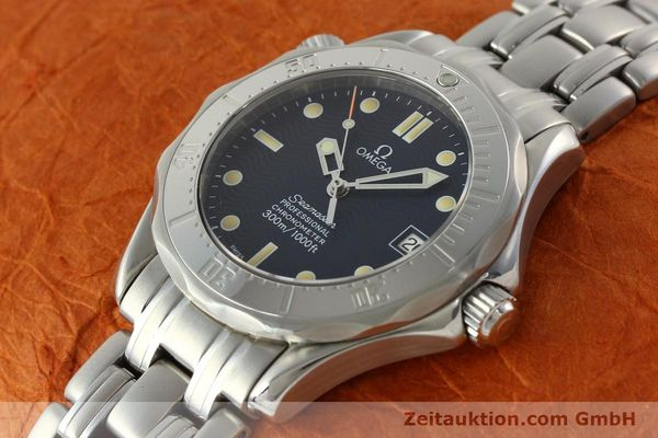 Used luxury watch Omega Seamaster steel automatic Kal. 1109 ETA 2892A2  | 141863 01