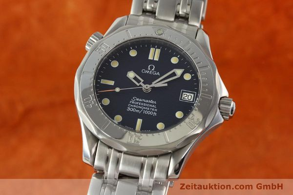Used luxury watch Omega Seamaster steel automatic Kal. 1109 ETA 2892A2  | 141863 04