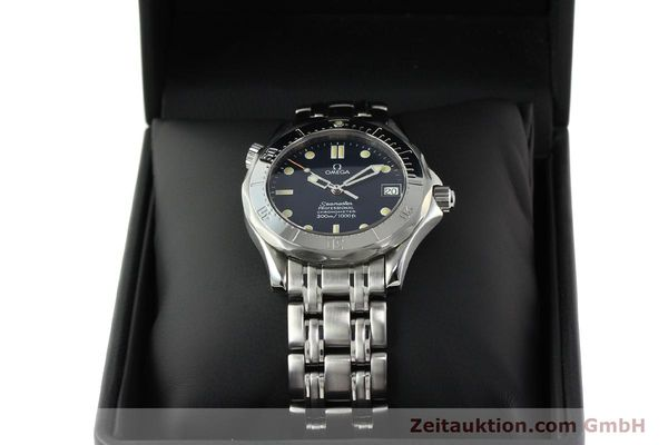 Used luxury watch Omega Seamaster steel automatic Kal. 1109 ETA 2892A2  | 141863 07