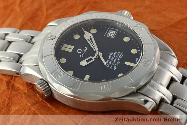 Used luxury watch Omega Seamaster steel automatic Kal. 1109 ETA 2892A2  | 141863 15
