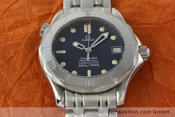 Used luxury watch Omega Seamaster steel automatic Kal. 1109 ETA 2892A2  | 141863 16