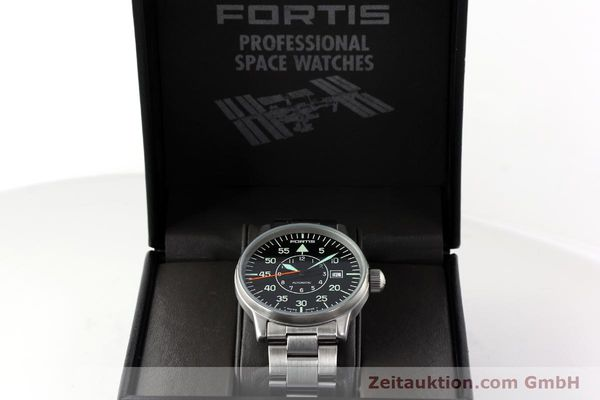 Used luxury watch Fortis Flieger steel automatic Kal. ETA 2824-2 Ref. 595.10.46.1  | 141864 07