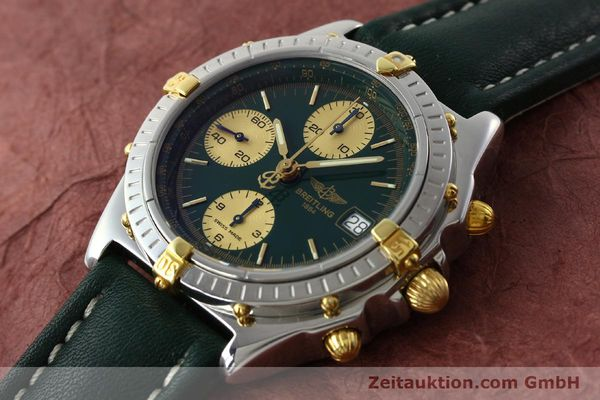 Used luxury watch Breitling Chronomat chronograph steel / gold automatic Kal. B13 ETA 7750 Ref. B13050.1  | 141865 01