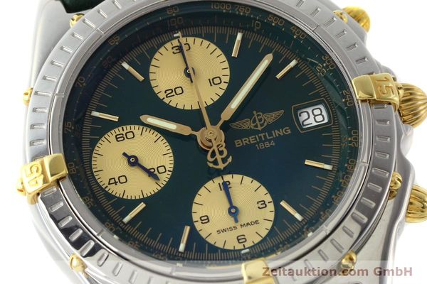 Used luxury watch Breitling Chronomat chronograph steel / gold automatic Kal. B13 ETA 7750 Ref. B13050.1  | 141865 02