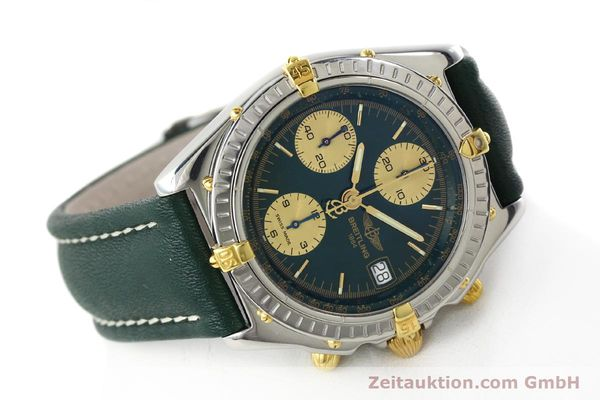 Used luxury watch Breitling Chronomat chronograph steel / gold automatic Kal. B13 ETA 7750 Ref. B13050.1  | 141865 03