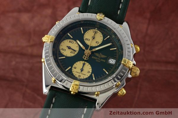 Used luxury watch Breitling Chronomat chronograph steel / gold automatic Kal. B13 ETA 7750 Ref. B13050.1  | 141865 04