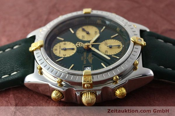 Used luxury watch Breitling Chronomat chronograph steel / gold automatic Kal. B13 ETA 7750 Ref. B13050.1  | 141865 05