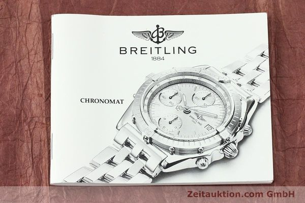 Used luxury watch Breitling Chronomat chronograph steel / gold automatic Kal. B13 ETA 7750 Ref. B13050.1  | 141865 11