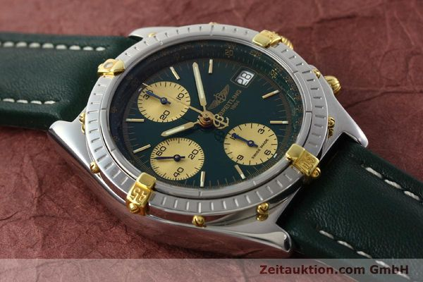 Used luxury watch Breitling Chronomat chronograph steel / gold automatic Kal. B13 ETA 7750 Ref. B13050.1  | 141865 13